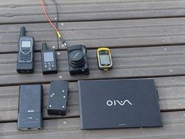 Technika, kterou používá Ben Saunders při své výpravě: Ultrabook Sony Vaio Pro,...