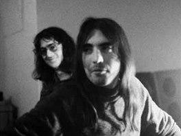 Otakar Alfr�d Michl s Milanem Hlavsouo jako �len DG 307 v roce 1976 (z knihy