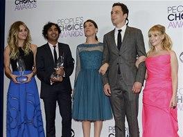 People's Choice Awards 2014 (tým seriálu Teorie velkého třesku)