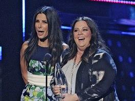 People's Choice Awards 2014 (Sandra Bullock a Melissa McCarthy)