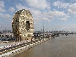 Pro tvar stavby si architekt našel hned několik inspirací.