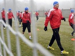 Fotbalisté Plzně zahájili dna zimní přípravu na jarní část sezony.