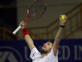 Stanislas Wawrinka právě vyhrál turnaj v indickém Čennaí.