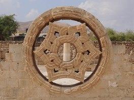 Zbytky Hišamova paláce v Jerichu