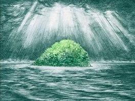 Obal knihy Ostrovy, na kterých ztroskotávám