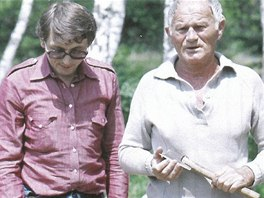 Na 28. březen připadají narozeniny spisovatele Bohumila Hrabala (1914-97). Na