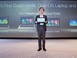 Asus na veletrhu CES 2014 p�edstavil jako prvn� syst�m s podporou Dual OS od