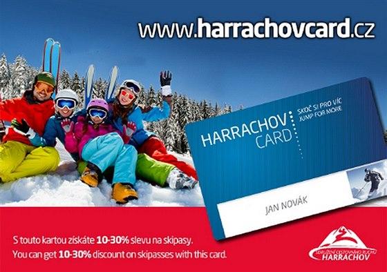 Z�skejte kartu Harrachov Card a u�ijte si dovolenou v Harrachov� s finan�n�m...