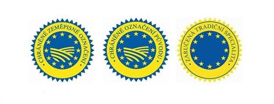 Certifikace potravin EU. Zeměpisné označení, označení původu, tradiční...
