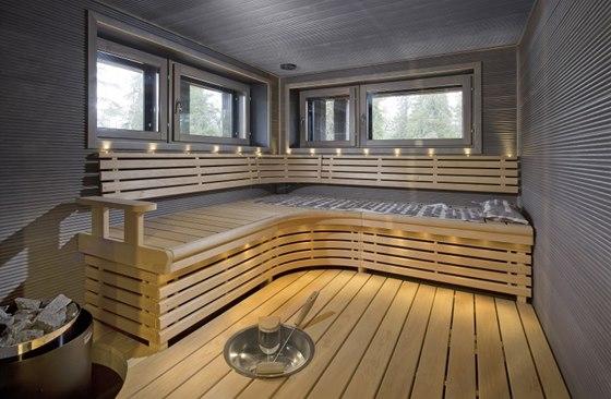 Ve Finsku nem�e chyb�t samoz�ejm� velk� sauna.