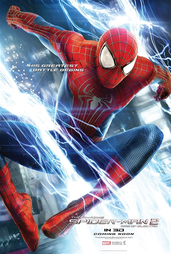 The Amazing Spider-Man 2, nov� plak�t