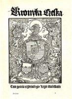 Titulní list prvního vydání Hájkovy kroniky (1541)