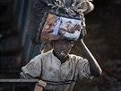 Súdánští uprchlíci ve městě Awerial.