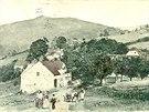 Vitín na pohlednici z roku 1899