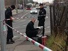 Policisté prošetřují střelbu v pražských Čimicích, kdy majitel garáže vystřelil...