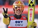Japonský skokan na lyžích Noriaki Kasai
