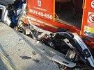 Neuvěřitelné, že jak řidička, tak i její dva malí synové vyvázli z nehody jen s...