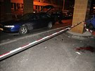Policisté muže dopadli až v Plzni v areálu fakultní nemocnice na Lochotíně.