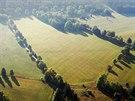 Letecké fotografie Brd, jejichž část se nově zpřístupní veřejnosti.