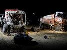 Volný den týmu Aleše Lopraise na dakarské rallye byl ve znamení setkání s...