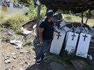 Ve státě Michoacán vzala spravedlnost do rukou místní domobrana (16. ledna 2014)