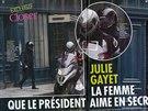 Francouzský magazín Closer uveřejnil fotky, na kterých prezident Hollande...