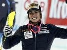 Marie-Michele Gagnonov� slav� triumf v superkombinaci v Zauchensee.