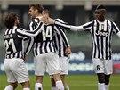 Radost fotbalistů Juventusu Turín.