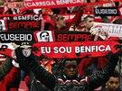 Smutek fanoušků Benfiky Lisabon patří zesnulé fotbalové legendě Eusebiovi.