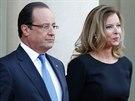 Hollande a  Valerie Trierweilerová.