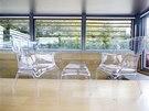 Majitelé mají rádi moderní design, nevyhýbají se ani plastu.