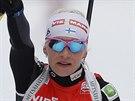 Finka Kaisa Makarainenová skončila ve stíhačce třetí.
