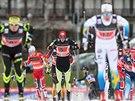 B�ci se na trati sprintu dvojic v Nov�m M�st� na Morav�.