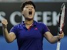 Luksika Kumkhumová právě na Australian Open porazila Petru  Kvitovou.
