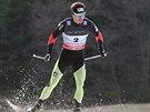 Běžec na lyžích Aleš Razým v kvalifikaci sprintu SP v Novém Městě na Moravě