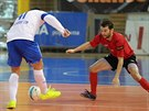 Momentka z futsalového duelu Brno vs. Chrudim