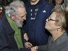 Kubánský revolucionář Fidel Castro se po devíti měsících objevil na veřejnosti.