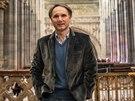 Spisovatel Dan Brown si prohlédl také katedrálu sv. Víta na Pražském hradě. A...