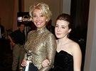Emma Thompsonová a její dcera Gaia Romilly Wise (12. ledna 2014)