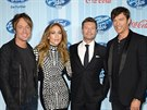 Porotci 13. ro�n�ku American Idol Keith Urban, Jennifer Lopezov�, Harry Connick...