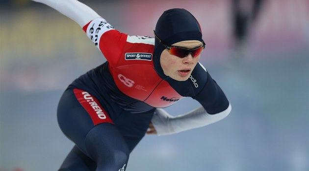 Nikola Zdráhalová na mistrovství Evropy ve víceboji v Hamaru.