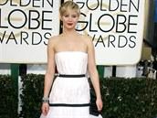 Herečka Jennifer Lawrence již tradičně vyrazila v šatech módního domu Christian...
