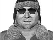 Policejní identikit muže, který měl podle podat na poště v pražských Stodůlkách...