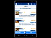Booking.com pracuje s několika filtry a zobrazuje uživatelská hodnocení, podle...