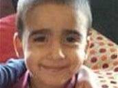 Pátrání po tříletém Mikaeelu Kularovi ve skotském Edinburghu (17. ledna 2014)