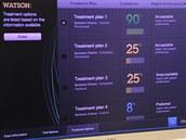 Ukázka zapojení Watsona v lékařství (Zurich 2012)