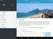Day One je soukromý deník vašich zážitků, který si můžete tvořit ve vašem iPadu.