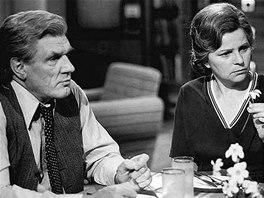 Jaroslav Mou�ka a Ji�ina �vorcov� v seri�lu Okres na severu (1980)