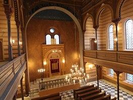 Opravená synagoga je prostě krásná. Není co dodat.