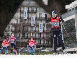 Trénink na Zlatou lyži v Novém Městě na Moravě